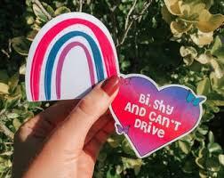 Bisexual Sticker Etsy