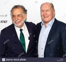 New York, NY - April 28, 2019: Francis Ford Coppola and Robert ...