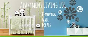 How To Remove Wall Decals Apartments Com