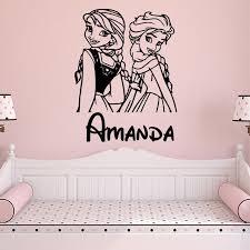 Mega Deal 05d6 Pretty Princess Custom Name Wall Sticker Wall Art Wall Paper For Kids Room Bedroom Pvc Wall Stickers Wall Decor Murals Cicig Co