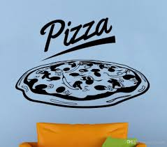 Pizzeria Logo Wall Vinyl Decal Pizza Shop Window Sticker Removable Pizza Shop Decoration Restaurant Wall Mural Vinyl Art Bedroom Decals For Walls Bedroom Stickers From Joystickers 12 57 Dhgate Com