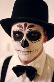 makeup for men dia de muertos