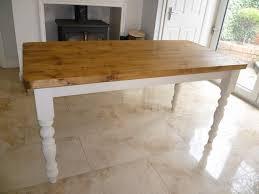 farmhouse tables solid oak pine