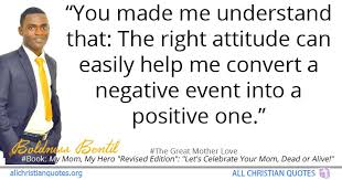 boldness bentil quote about attitude positive mother s day