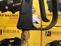 Đầu xoay chống xoắn dây dành cho máy rửa xe HIROMA - 02