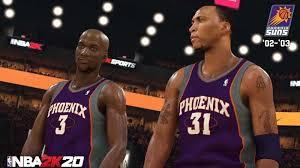 suspended season within NBA 2K20