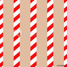 candy cane pattern simple design for