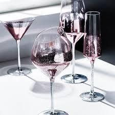 starry sky wine glasses apollobox