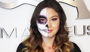 halloween makeup catrina style