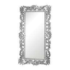 x 40 in venetian glass framed mirror