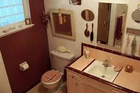 marsha saves her peach tile bathroom