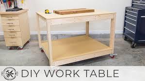 diy work desk decor garden table plans