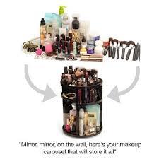 acrylic cosmetic makeup organizer 360