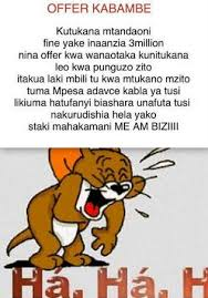crazy swahili jokes that will really crack you up this thursday