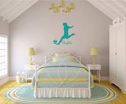 Amazon Com Soccer Wall Decal Vinyl Sticker Decor For Teen Girl S Bedroom Or Playroom Sports Decorations Handmade