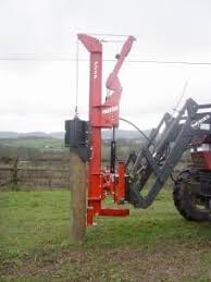P220 Front Mounted Post Driver Tractor Attachments Tractor Idea Yard Tractors