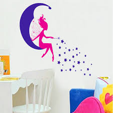 Fairy Wall Stickers Girls Room Lounge Wall Decals