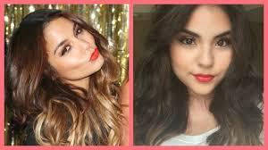 vanessa hudgens makeup bright red lips