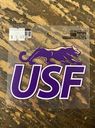 Potter Decals Small Usf Logo Cougar Central