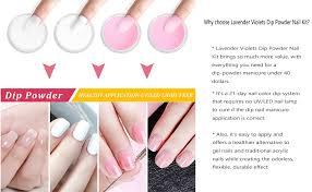 dip powder nail kit acrylic powder