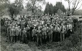 Foresters at Hamsterley in 1959