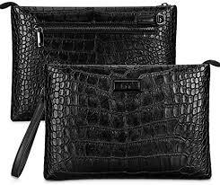 men s black clutch bag fyy luxury