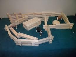 Wood Farm Play Set Toy Fence Ranch Play Set 3 Fence Set Etsy