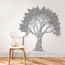 Wallpops Grey Nature Story Book Wall Decal Dwpk3368 The Home Depot
