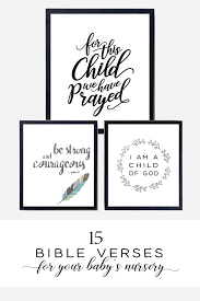 bible verses for your baby s nursery chickadee art and company