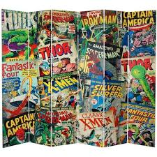Your Kid Will Love You If You Get Him This 7 Foot Marvel Comic Book Room Divider Gadget Review