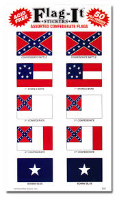 Buy Confederate Assorted 50 Count Sticker Pack Flagline