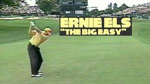 Ernie Els Swings 2002 PGA Championship ...