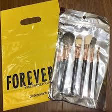 auth forever 21 cosmetic brushes set