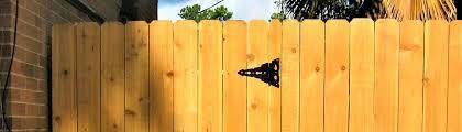 Wood Fences Gates Custom Security Fence