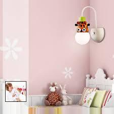 Cartoon Giraffe Led Wall Light Kids Bedroom Kindergarten Sale Price Reviews Gearbest