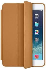 apple smart case marron pour ipad