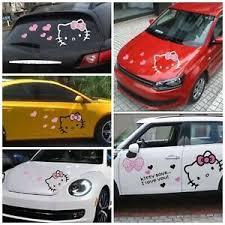 Hello Kitty Cartoon Car Hood Doors Decal Sticker Body Decoration Cover Scratches Ebay
