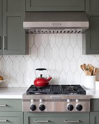 Fireclay Tile On Instagram White Picket Fence Try White Picket Tile See More Farmhouse Inspo And Ge Kitchen Renovation Kitchen Remodel New Kitchen Cabinets