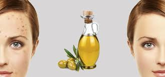 mage your face with olive oil