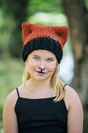 diy makeup tutorial and knit hat