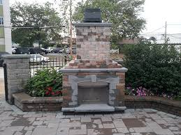 small outdoor fireplace ideas easy