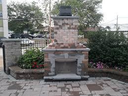 patio with fireplace ideas patio