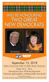 NSNDP - Join New Democrats and friends on September 15 for ...