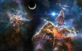 hd wallpaper sci fi nebula light