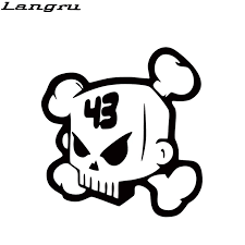 Langru New Product For Ken Block Skull Vinyl Decal Funny Car Styling Sticker Car Accessories Decor Art Jdm Car Styling Stickers Car Accessoriesjdm Style Aliexpress