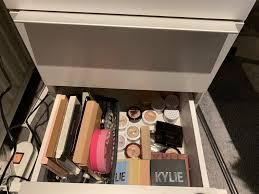 organizing my makeup collection part 1
