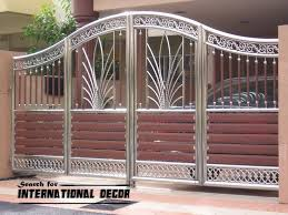 Gate Designs For Private House And Garage Gate Ideas Pinterest Front Gate Design Main Gate Design Fence Gate Design
