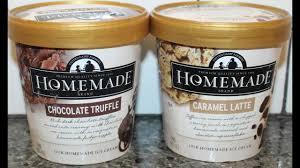 homemade brand ice cream chocolate
