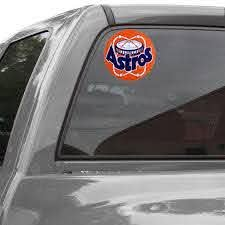 Houston Astros Cooperstown 8 X 8 Color Decal
