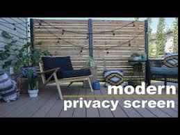 diy deck privacy screen do it
